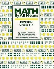 Math by All Means: Division Grades 3-4
