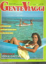 GENTE VIAGGI - N.5 - MAGGIO 1983