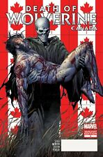 DEATH OF WOLVERINE 4 RARE CANADA CANADIAN McNIVEN VARIANT NM