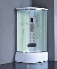 Shower Enclosure Room 8004-A pure white all glass 36x36 NEW 2016