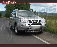 NISSAN X-TRAIL 07-09 BULL BAR,NUDGE BAR,A BAR + GRATIS! STAINLESS STEEL