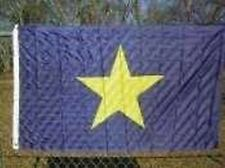 Burnet's 1st Texas Republic Flag 3x5 ft 1836-1839 Revolution First President TX