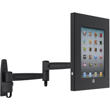 IPAD 4 3 2 AIR SECURE ANTI THEFT WALL MOUNT LOCKABLE DISPLAY EXHIBITION CASE POS