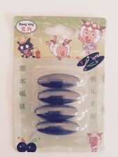 Spinning Buzz 4 Rattle Magnets Childrens Toy Present Strong Powerfull Black New