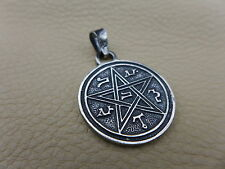 Christiana Talisman of Love and Happines Amulet 925 Sterling Silver Pendant