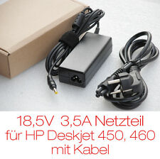 PWR-SUPPLY/NETZTEIL FOR PRINTER/DRUCKER HP DESKJET 450 460 + CABLE NEW RECHNUNG