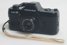 PENTAX AUTO 110 CAMERA WITH 24MM F/2.8 LENS AS IS