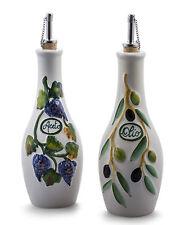 Bassano olive ACETO & Olio Set aceto e olio insoliti CERAMICA ITALIANA 0,5