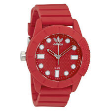 Adidas Originals Red Dial Ladies Watch ADH3104