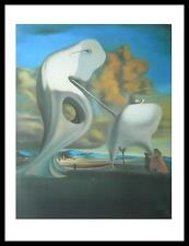 Cadre et Salvador Dali L Angélus Architectonique de Milles affiche art print