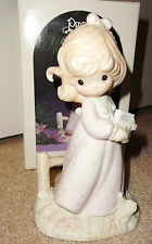 Precious Moments The Voice of Spring First Issue LE 1985 Four Seasons Series NIB