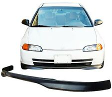 HONDA CIVIC EG 92-95  TYPE R STYLE SALOON SEDAN FRONT LIP POLYURETHANE 4 DOOR