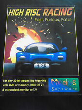 New! High Risc Racing for Risc PC, A3000 etc. Acorn RISC OS