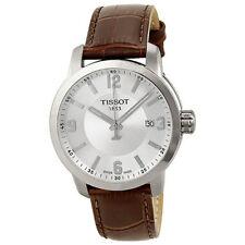 New Tissot PRC 200 Quartz Silver Dial Men's Watch T0554101603700