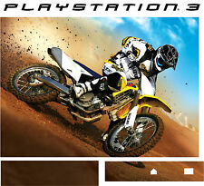 PlayStation 3 PS3 MOTOCROSS MOTO X BIKE Vinyl Sticker Skin