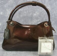 """NEW ~ Beijo """"Let's Talk About It"""" Chocolate Compartment Style Handbag  $89"""