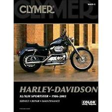 Clymer Repair Manual 1986-03 Harley XL/XLH Sportster
