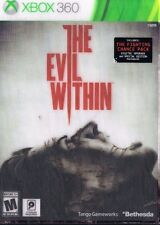 The Evil Within Spec. Ed. Fighting Chance Pack w/Cover (Xbox 360, 2014) *Sealed*