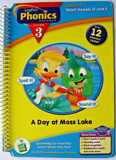 LeapFrog Leap Pad Phonics Program Lesson 3, Short Vowels O and E, Booklet Only
