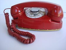 Beautiful Western Electric Telephone Red Princess phone Working antique