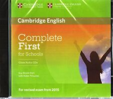 Cambridge COMPLETE FIRST FOR SCHOOLS FCE Class Audio CDs for Exam from 2015 @NEW