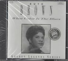 """BROWN, RUTH  """"What Color Is The Blues""""   GOLDEN LEGENDS SERIES SEALED BLUES-CD"""