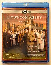 DOWNTON ABBEY: Season 2 PBS - MINT NEW BLU-RAYS!! Free First Class Ship in U.S.
