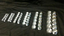 Hydraulic Fittings: Steel JIC (A/N) Plug and Cap Kit (72 pieces)
