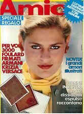 AMICA ANNO XIX N. 35 26 AGOSTO 1980 ITALIAN FASHION MAGAZINE MODA