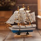 Vintage Tall Ship Detailed Wooden Boat Model Nautical Home Decor Collectible Toy