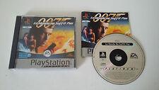 007 LE MONDE NE SUFFIT PAS - SONY PLAYSTATION 1 - JEU PS1 PS2 PLATINUM COMPLET