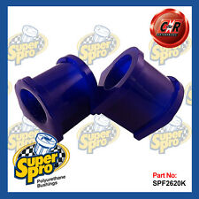 Mazda 323 BJ Series 6/98 - 2002 Superpro Front Roll Bar Mount Bushes SPF2620-20K