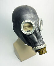 russian soviet black gas mask GP-5 only mask SMALL MEDIUM 0 1 2 sizes
