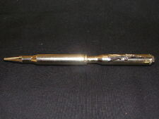 BULLET PEN .270 WINCHESTER RIFLE CASING  NICKEL BALL POINT HANDCRAFTED