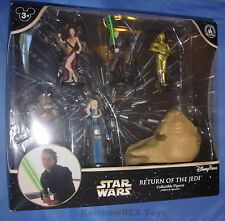 Star Wars 2015 RETURN OF THE JEDI Set of 6 Figures Disney Parks Exclusive