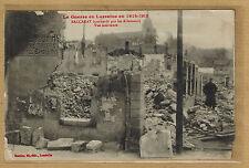 Cpa Lorraine Baccarat bombardé par les allemands - vue intérieure rp0235