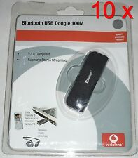 10x Vodafone Bluetooth USB Dongle 100M - BTA-6030 - Version 2.0 + EDR =5,90€/St.