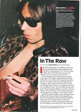 IGGY POP 'Iggy has a ciggie' magazine PHOTO/Poster/clipping 11x8 inches