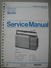 Philips 90 AL290 Kofferradio Service Manual
