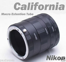 Nikon Macro Extension Tube Ring D7000 D7100 D5100 D5200 D3200 D3100 D100 D90 D60