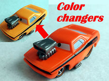 Mattel Disney Pixar Cars Color Changers SNOT ROD Orange - Yellow 1:55