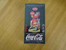 RARE SEALED BOX COCA-COLA HOLIDAY TRADING CARDS! COMIC IMAGES!