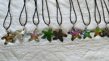 Joblot of 50 pcs Starfish design Glass Crystal Pendants wholesale lot 1
