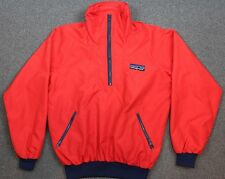 Patagonia VTG 70's-80's Big Logo Pullover Windbreaker Jacket Red Mens Medium