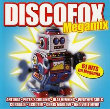 DISCOFOX MEGAMIX - VARIOUS ARTISTS / 2 CD-SET - NEUWERTIG