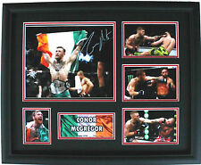 New Conor McGregor Signed Limited Edition Memorabilia Framed