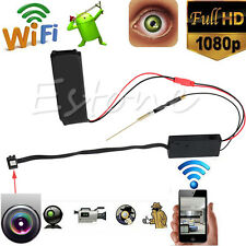 WiFi IR Spy IP Camera Night Vision HD 1080P Mini DVR Module Security 5.0MP H.264