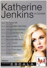 Katherine Jenkins 'IN CONCERT' 2010 UK Tour A5 Flyer - New