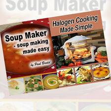 Paul Brodel Cookbook and Soup maker Books Collection 2 Books Set,Halogen Cooking
