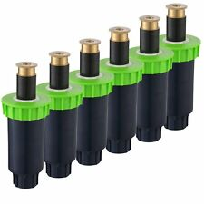 """A7008 Automatic Sprinkler System - 6 Pack- 2"""" Plastic Spring Loaded Pop-Up with"""